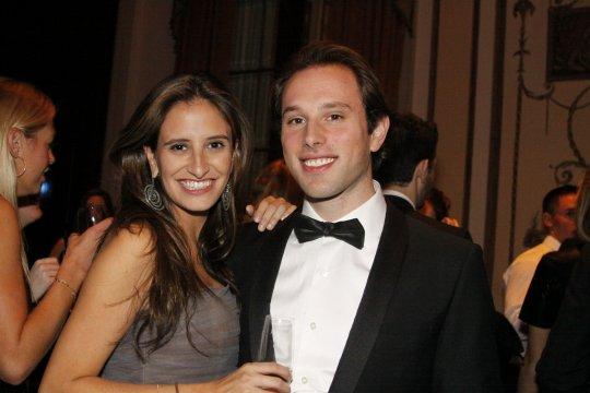 Anne Volk and Ben Sherman