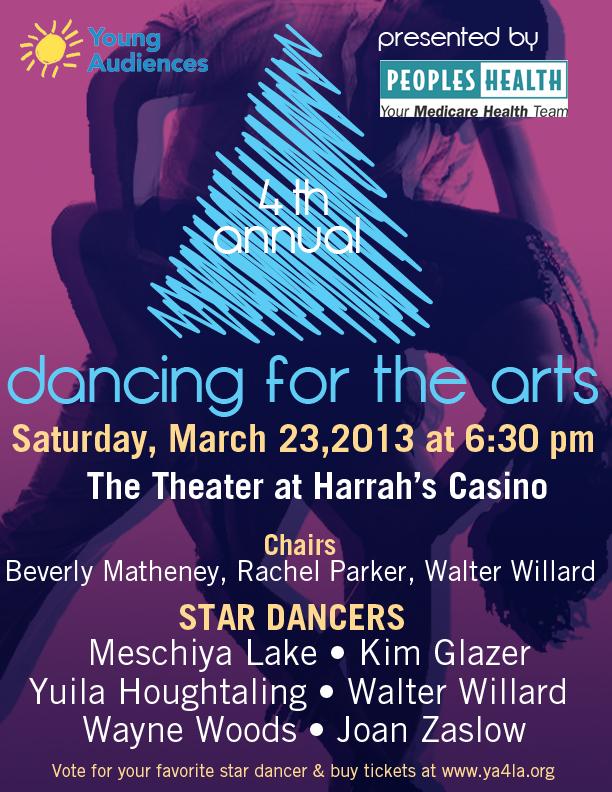 4th Annual Dancing for the Arts YA Louisana